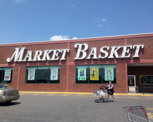Market Basket, Central Plaza, Haverhill.