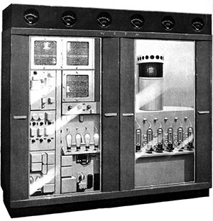 The first transmitter to carry WHAVs FM signal.