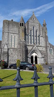 St. Mary's Abbey Ballinasmale, Claremorris, County Mayo, Ireland.