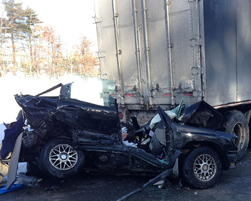 Haverhill Man in 'Stable' Condition After Interstate Crash
