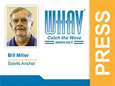 Bill Miller's WHAV press pass.