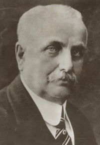 Frank Winfield Woolworth (April 13, 1852 – April 8, 1919), founder of F. W. Woolworth Company.