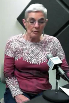 Ann Jones, of the Greater Haverhill Arts Association, recently appeared on WHAV's Open Mike Show.
