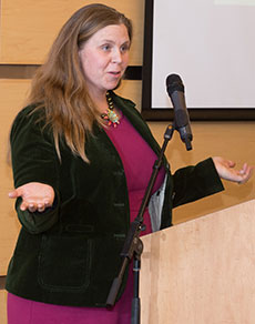 Professor Marcy Yeager is the new executive director of Quarrybrook.