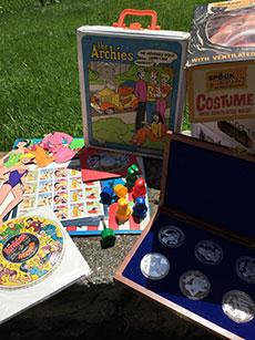 Archie Comics co-CEO Nancy Silberkleit's collection of Archie memorabilia.