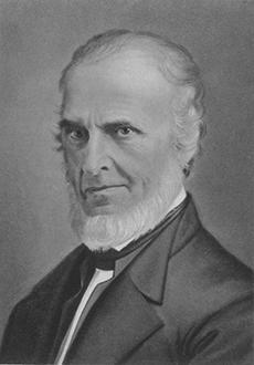 Poet, abolitionist and legislator John Greenleaf Whittier.