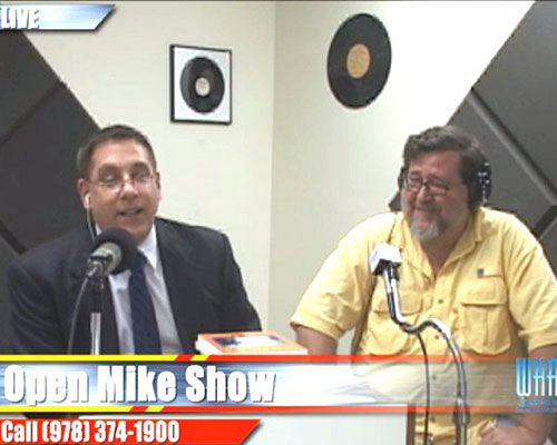 David Goudsward, local historian, pays a visit to the Open Mike Show with Tim Coco.