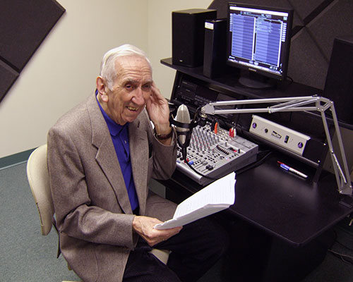 The late Phil Christie voices WHAV imaging announcements.