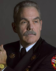 Interim Fire Chief John E. Parow.