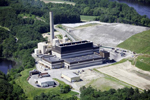 Waste-to-energy plant in Ward Hill generates up to 49 megawatts from one condensing steam turbine generator.