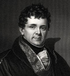 Ireland's Catholic emancipator and abolitionist Daniel O'Connell.