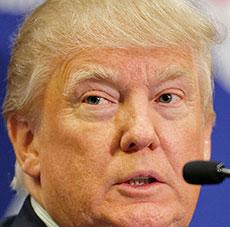 Republican candidate Donald J. Trump.