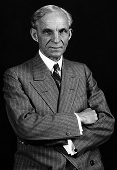 Henry Ford in 1928. (From the Collections of The Henry Ford.)