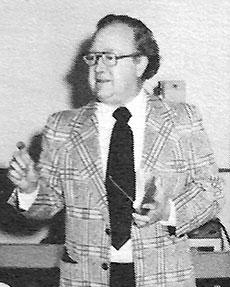 Late WHAV News Director Edwin V. Johnson.