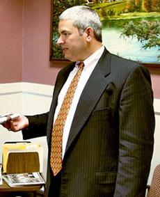 David S. Van Dam, chief of staff to Haverhill Mayor James J. Fiorentini.