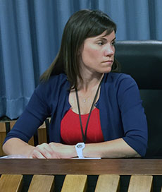 Assistant Superintendent for Curriculum Julie R. Kukenberger attended her final school committee meeting.