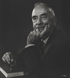 Arthur Harrison Cole. (Photograph courtesy of the Estate of Yousuf Karsh.)