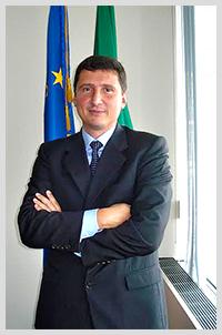 Nicola De Santis, consul general of Italy in Boston.