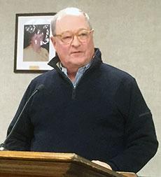 Rotary Club of Haverhill President Arthur H. Veasey.