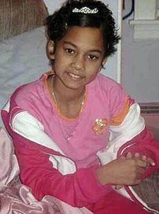 Another child, Jarisma, died 10 years ago after being stricken with bone cancer.