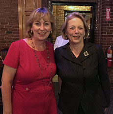 State Sen. Barbara L'Italien and U.S. Congresswoman Niki Tsongas.