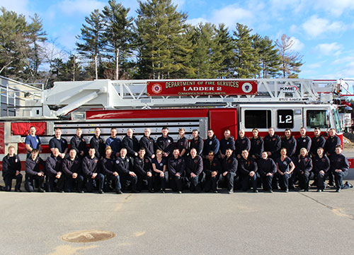 Mass  Firefighting Academy Graduates 38 From Area Towns | WHAV