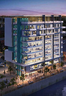 """Architect's rendering of """"The Heights."""""""