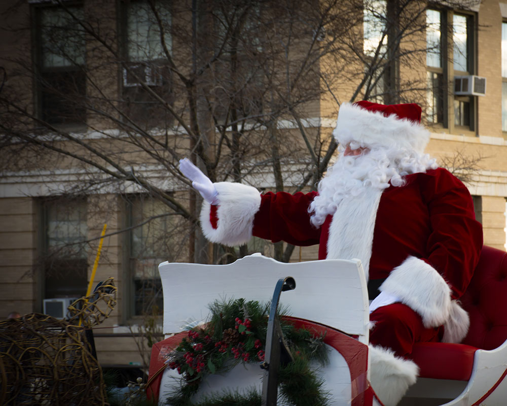 Sing Along Now, 'Santa Claus is Coming to Town;' 57th Annual VFW Santa Parade Nov. 21