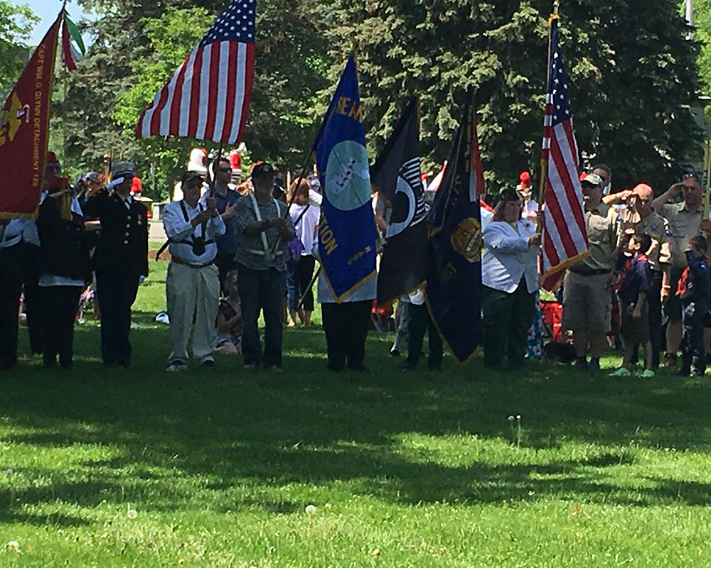 Photos Haverhill Marks Memorial Day 2019 At Linwood Cemetery Whav