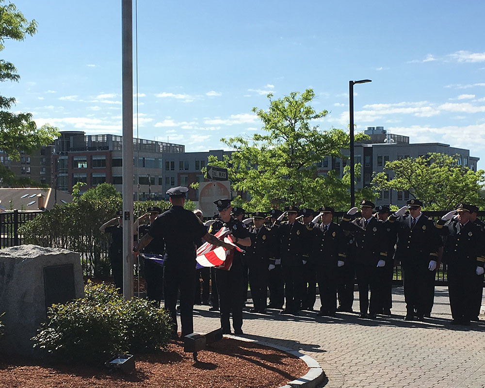 Photos Haverhill Police Honor Late Hardy Fallen Officers On