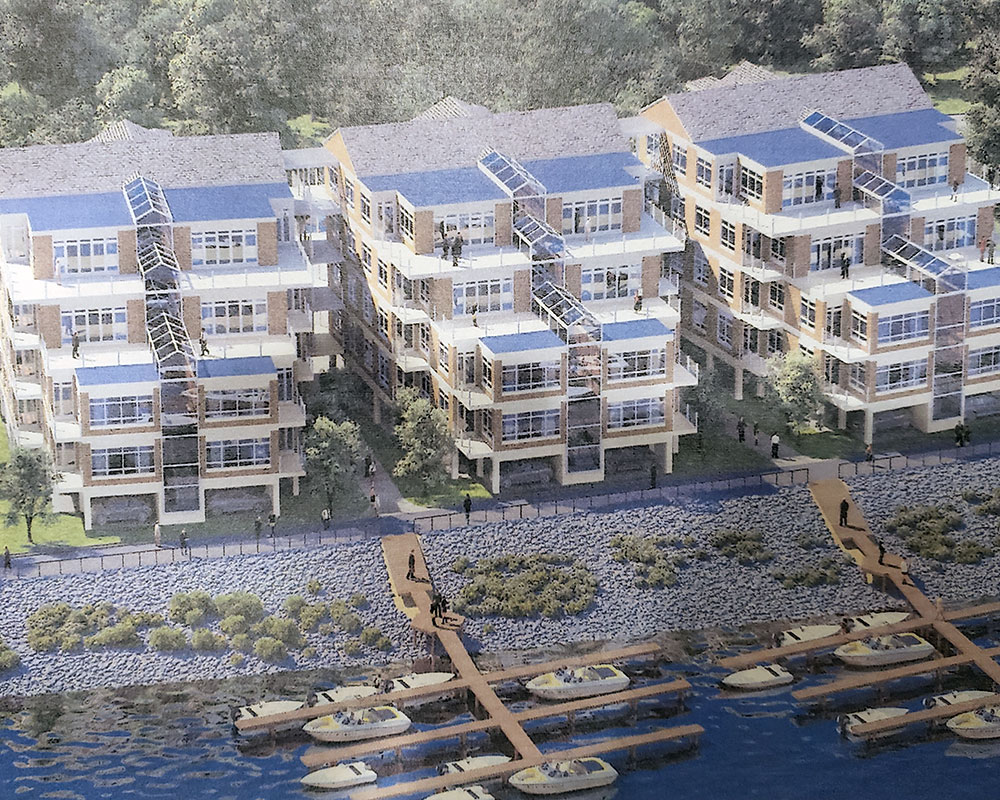 Bradford Waterfront Project—Now 48 Condominium Units—Before City Council Tonight