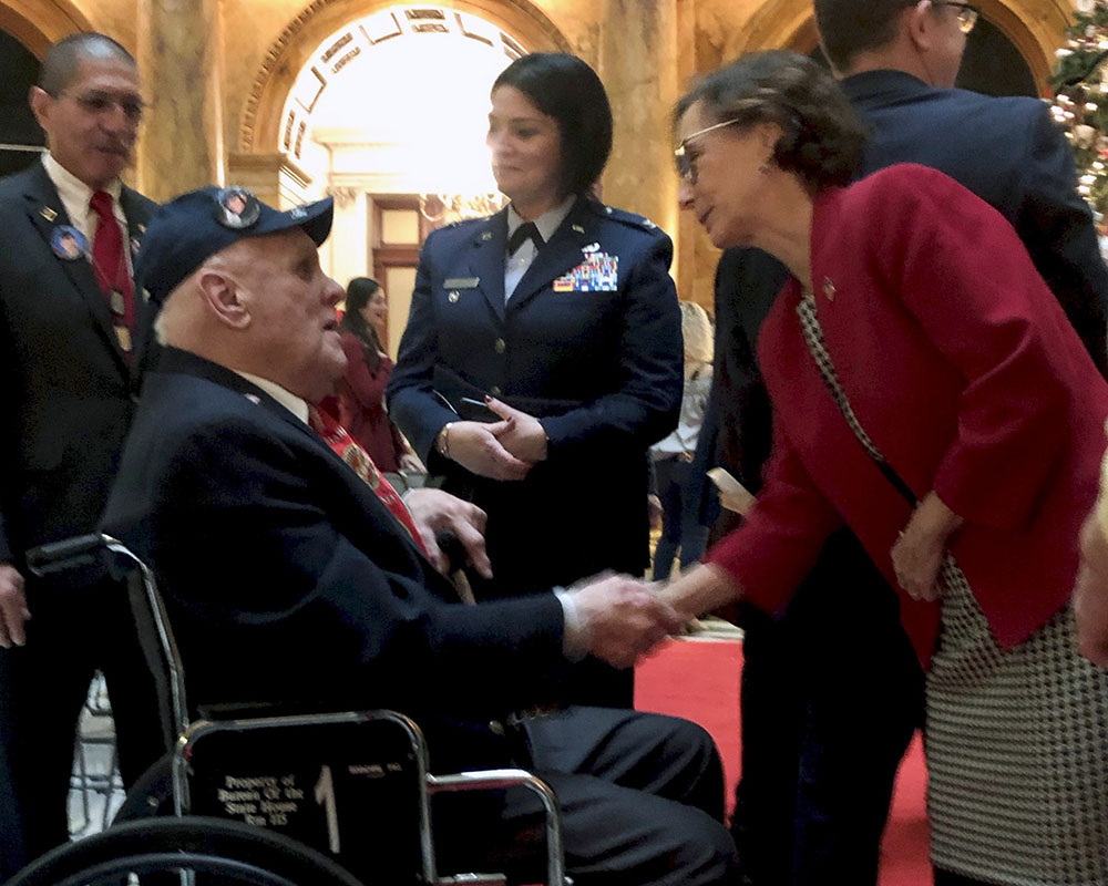 Rep. Campbell and Sen. Rush Present Bill to Overhaul Soldiers' Homes After COVID-19 Deaths