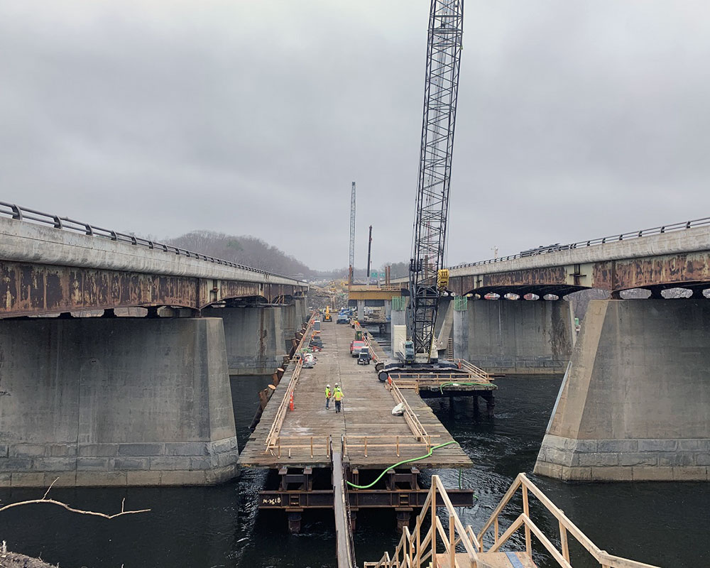 Pile Driving Begins Friday for New I-495 Southbound Bridge; Officials Expect No Traffic Impact
