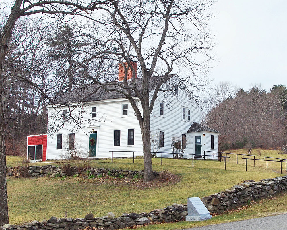 Haverhill's Whittier Birthplace Again Open for Tours Through October