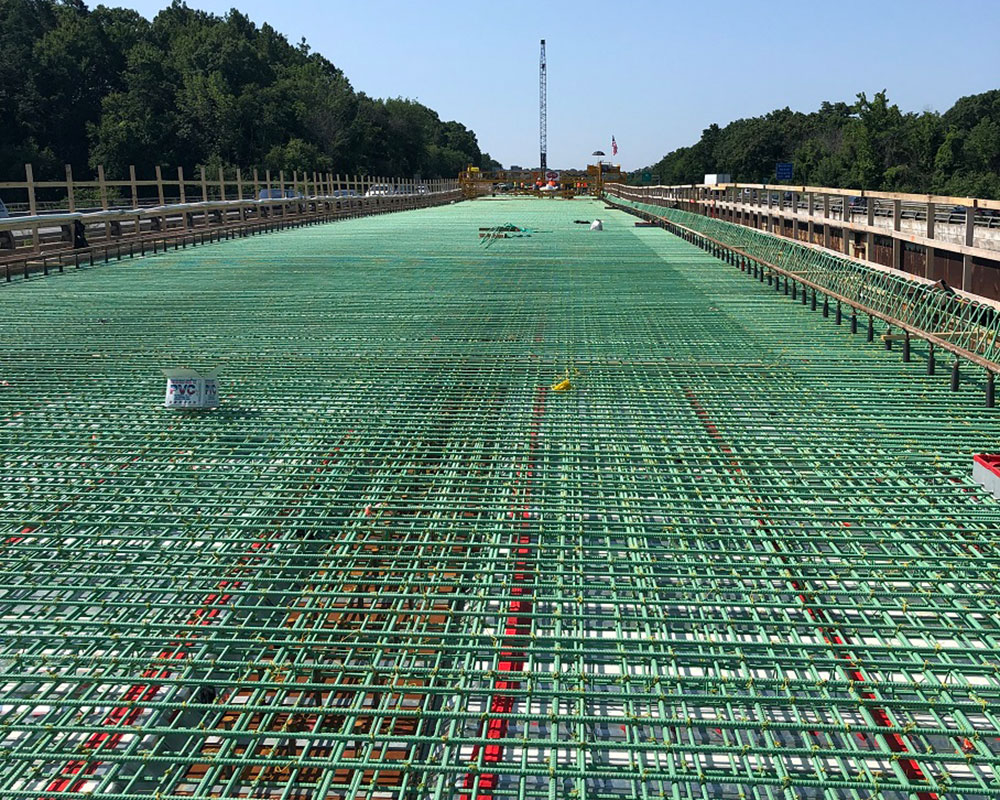 Two I-495 Right Lanes Southbound and On Ramp to Close Overnight Wednesday for Rebar Installation