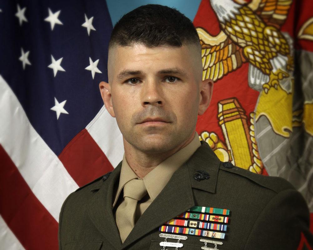 Marine Corps Reserve Promotes Methuen Interim Police Lt. Ferreira to Sgt. Major, Highest Enlisted Rank