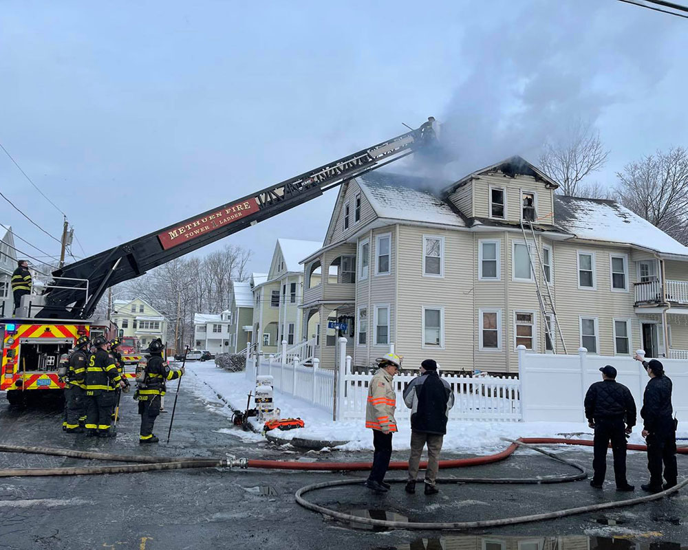 Officials Credit Smoke Alarms for Helping Methuen Residents Escape Blaze Wednesday