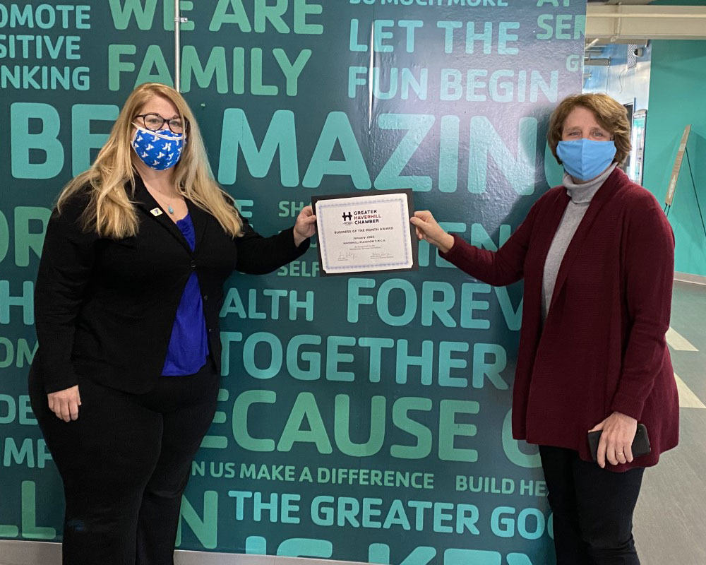 Greater Haverhill Chamber Honors Haverhill/Plaistow YMCA for Pandemic Response