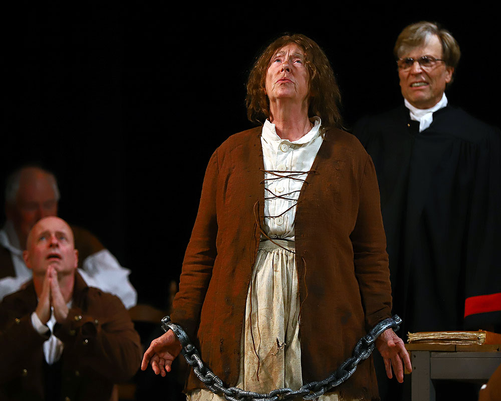 Haverhill's Goans Wins Individual Award for 'Saltonstall's Trial' Play