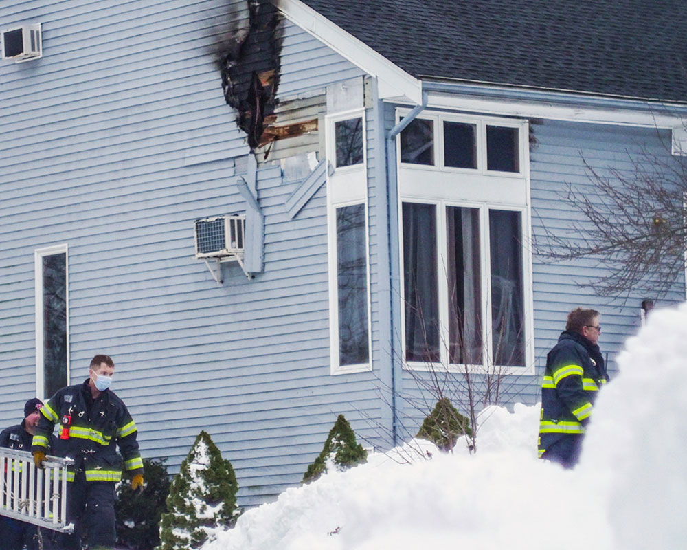 Passerby Alerts Family to Bradford House Fire; Residents Escape Safely