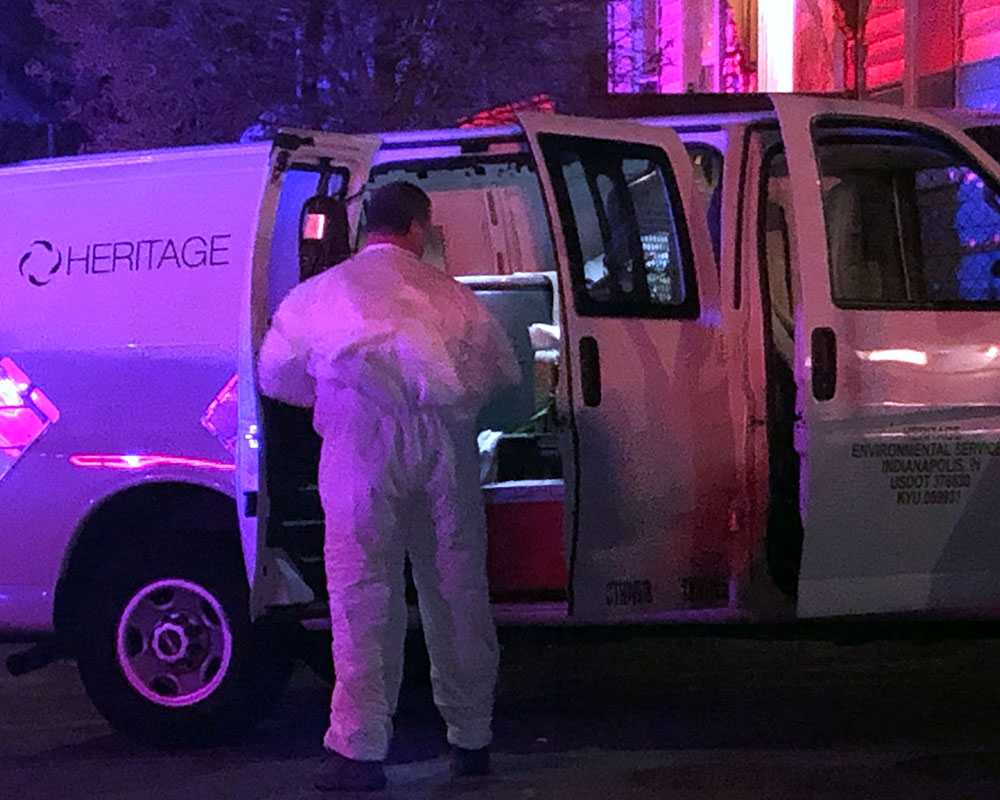 Police, Fire, EMS, HazMat Teams Respond to Report of Drugs Found at Haverhill Home