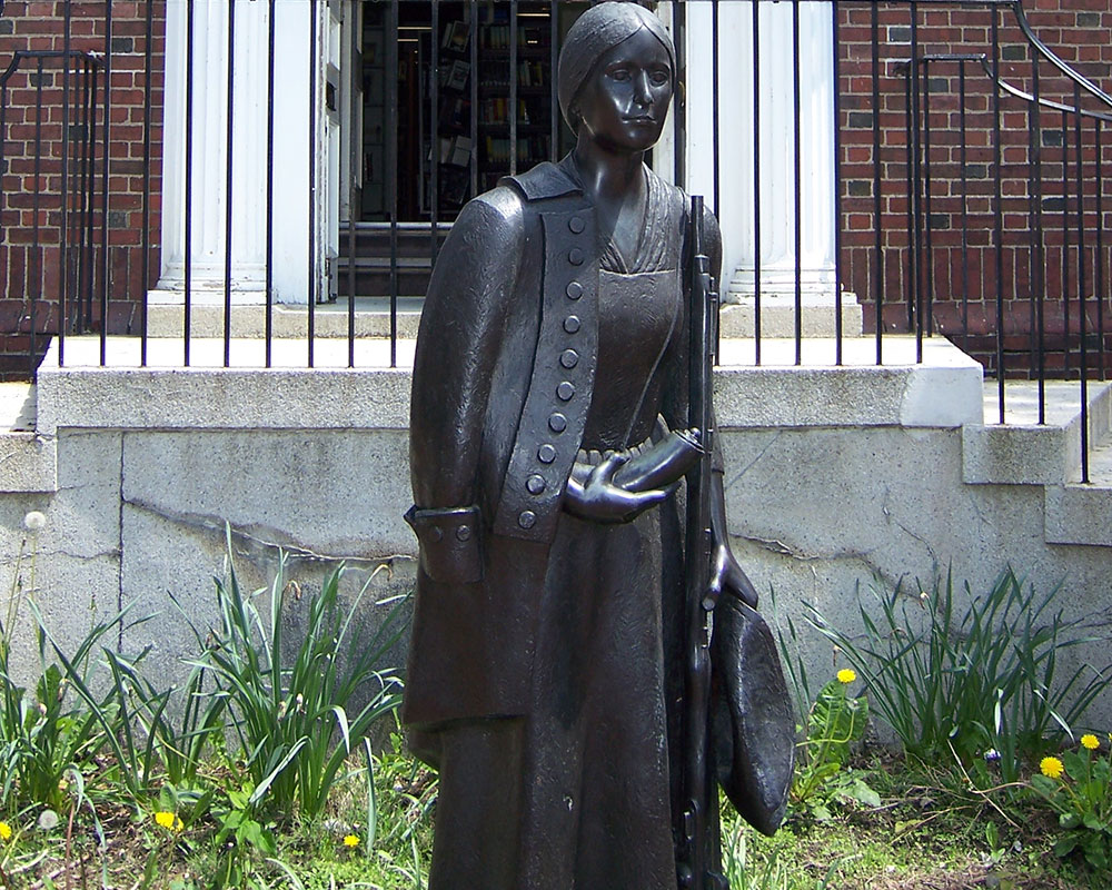 Campbell Leads Effort to Honor Revolutionary War Soldier Deborah Samson with State House Memorial