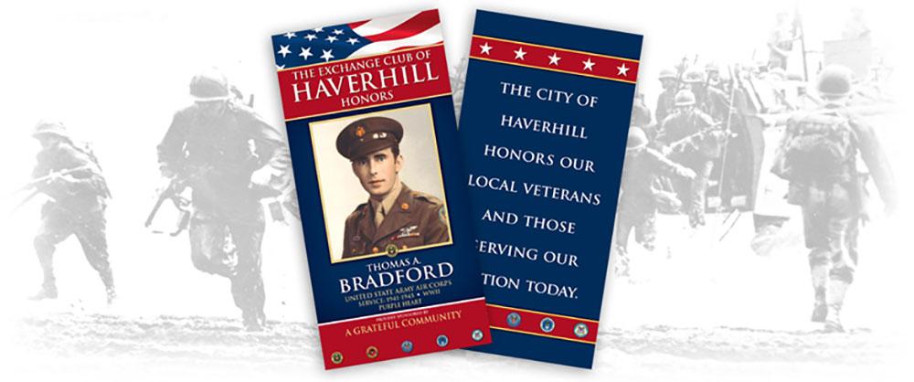 Haverhill Exchange Club's Hometown Heroes Banner Program Seeks Sponsors By March 25