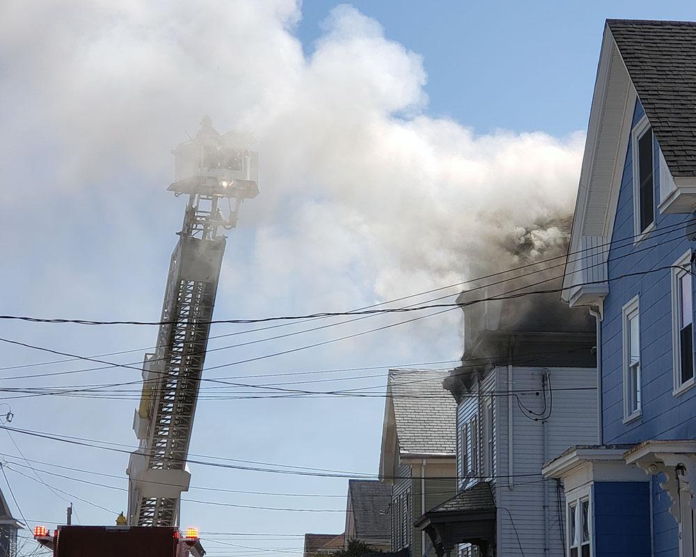 2nd Update: Haverhill Firefighters Knock Down Jackson Street Blaze; Report No Injuries