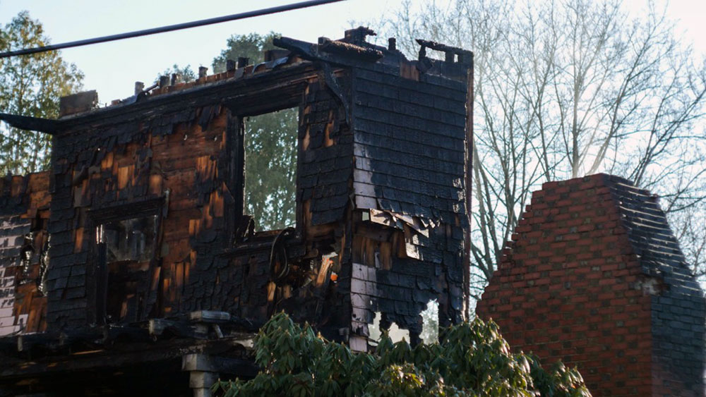 Two-Alarm Fire Destroys Haverhill House Undergoing Renovation; No Injuries Reported