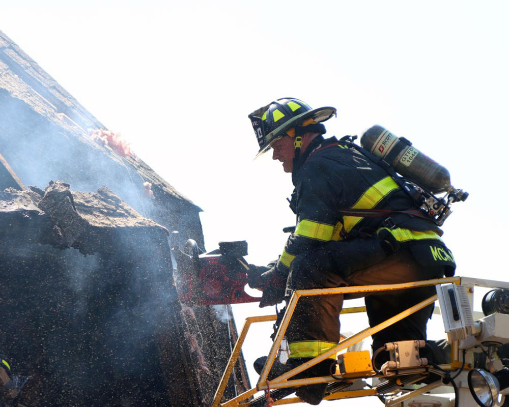 West Newbury Fire Reports No Injuries From Saturday's Four-Alarm Single-Family Home Blaze