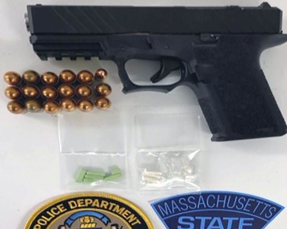 State Police Seize 'Ghost Gun' During Arrest of Man Wanted for Crimes in Methuen