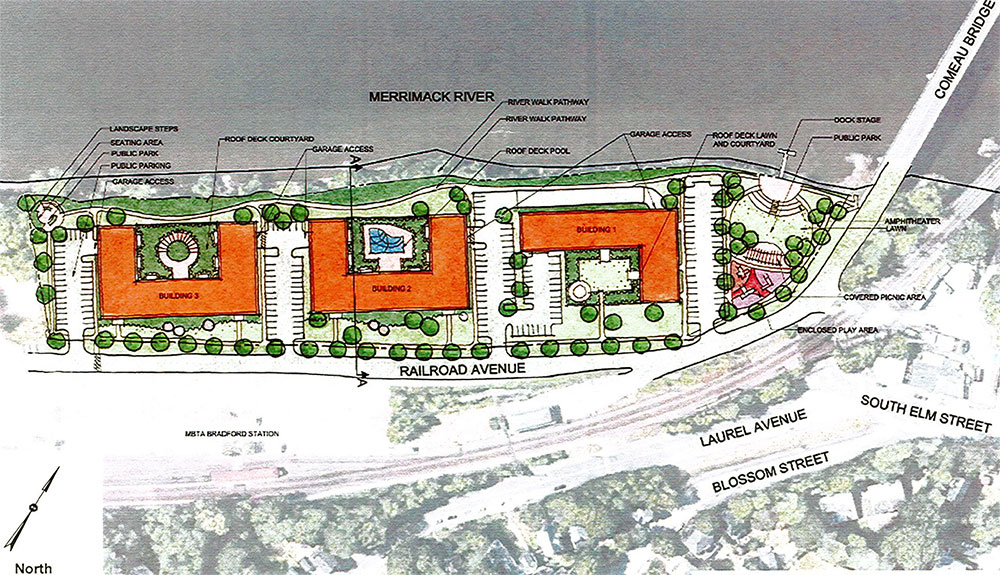 Haverhill Council to Consider Permit for 'The Beck' 290-Apartment and Retail Complex at Ornsteen Site