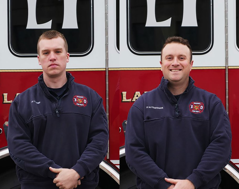 Two Haverhill Firefighters Graduate from Massachusetts Firefighting Academy's Recruit Training