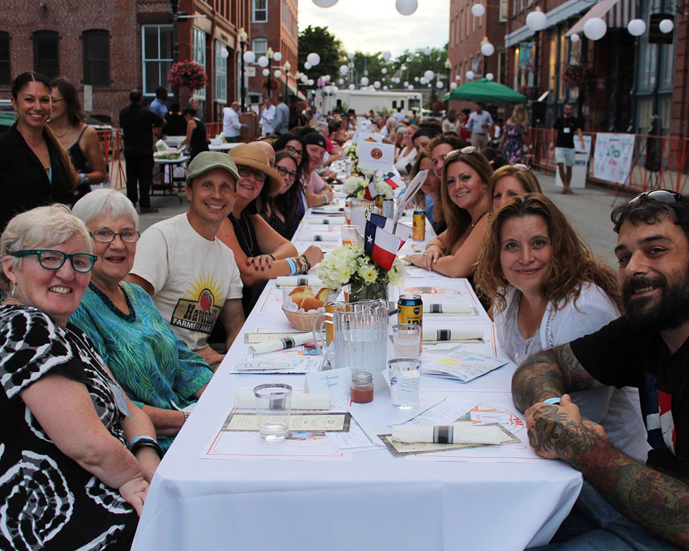 City Councilors Welcome Back Haverhill's Longest Table to Benefit L'Arche Boston North
